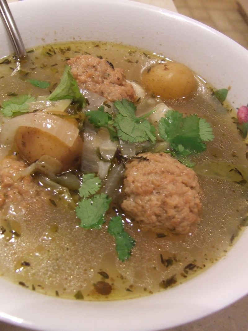 Sicky House/VEGAN Albondigas Soup Recipe - My KumkuLove